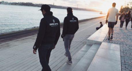 Portugal Lissabon cooper copter