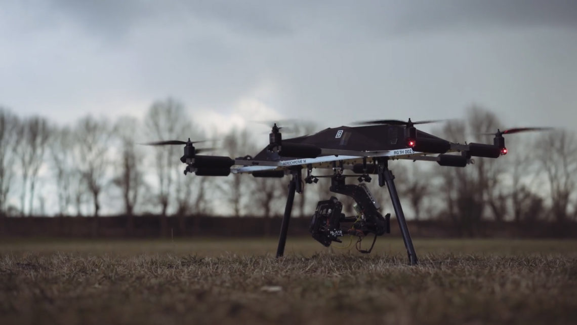 AEROCHROME 14 CC 14 - COOPER COPTER heavy duty copter drone camera drone