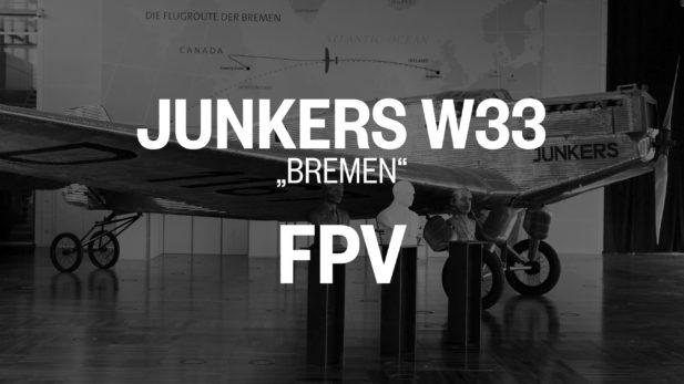 JunkersW33 FPV